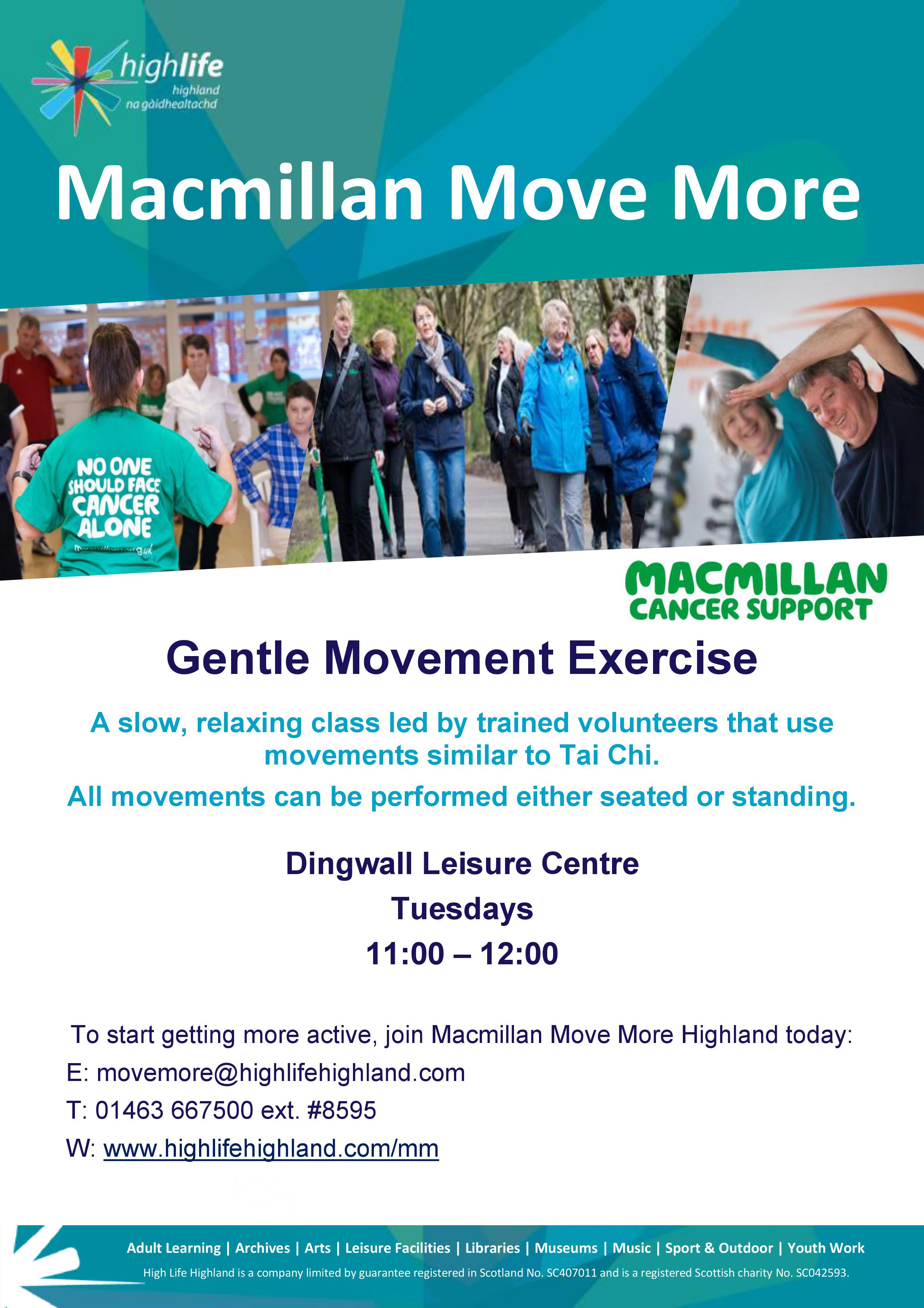 Macmillan Move More